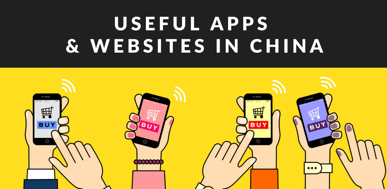Useful APPS & Websites in China